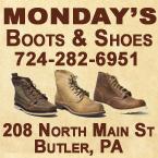 Monday's Shoes