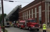 Fire in Harrisville