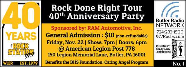 November 17, 2019: Rock Station Anniversary Party