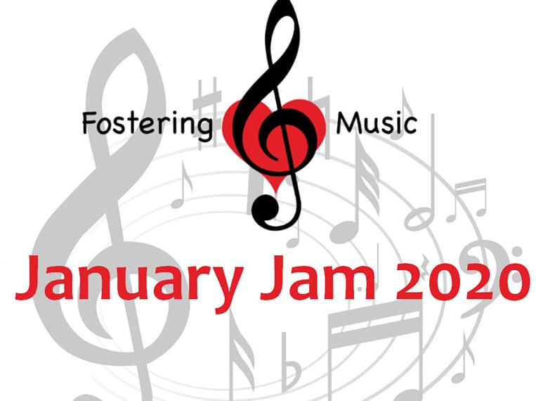 December 8: Fostering Music/January Jam